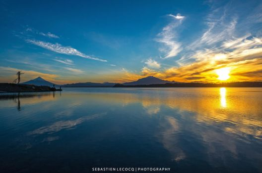 Sunrise in Chile by lux69aeterna