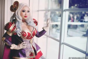 Heartseeker Ashe II - League of Legends by yayacosplay