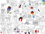 Craziest silly randomness on Drawpile V2.0 by ZeFrenchM