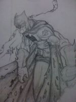 Batman Not Defeated Original by DominicanFlavor