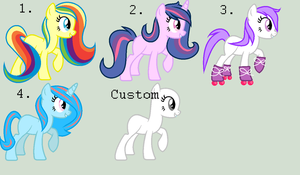 MLP 2 Point Adoptables Batch CLOSED by JellyCredible