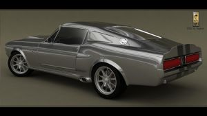 Mustang Shelby GT 500 1967 render3 by Siegfried-Ukr