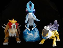 Legends of the Johto Region by studioofmm