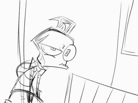 Zim Storyboard test by Freakly-Silent