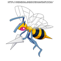 My Favorite Bug Type 2014- Beedrill by GeneralGibby