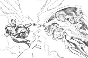 Creation of Black Adam Pencils
