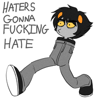cG - HATERS GONNA FUCKING HATE by DM-HS