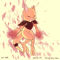 PKMN #63 - Abra by kittehmeow