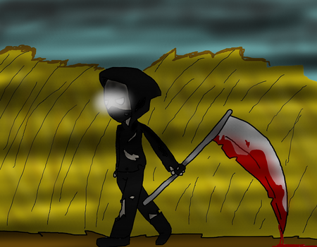(Request) Harvest Time OC Reaper by CREEPERBOXX