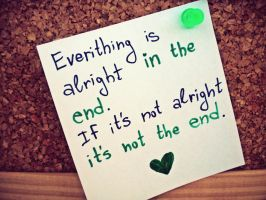 Everythnig Is Alright ... by siqna333