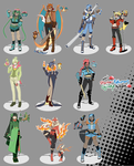 $10 Starter PKMN Gijinka Adopts round 2 [Closed] by azume-adopts