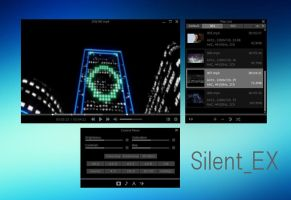 Potplayer Skin - Silent_EX (2016/5/3 Update) by experiments4