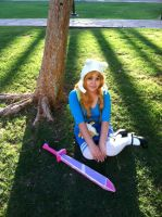 Fionna the human cosplay by zamii070