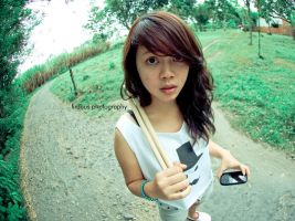 Sekar look at my lens :D by powerlogical