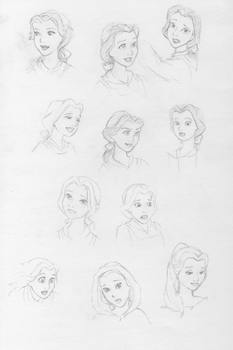Expressions Belle by Shinteki
