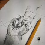 20170131 Hand Sketch Psdelux by psdeluxe