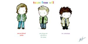 Team Free Will by ScarletInk314