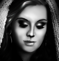 Adele Drawing by xderikahx