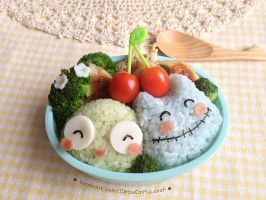 UGA and GOO Bento Lunch box by loveewa