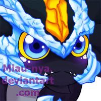 PC_ Chibi Black Kyurem by Miau-nya
