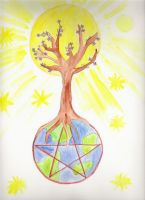 Mother earth by MJaaay