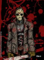 Jason Voorhees by zombiezeroarthouse