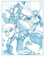 cover ben 10 pencils example by dtoro