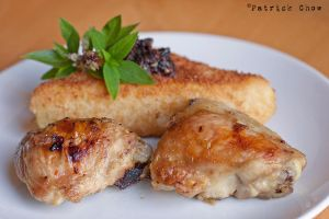 Fried polenta and chicken 1 by patchow