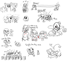 Gumball doodles 4 by fallenjrblue