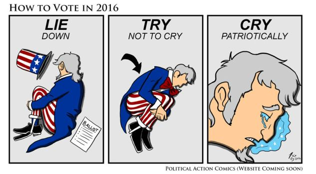 How to Vote in 2016 by RizzleG