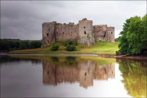 Carew Castle Wales. by Firey-Sunset