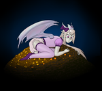 Chocolate Coin Pile by NormalDeviant