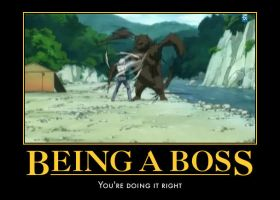 Being a boss by CaptainxOblivious