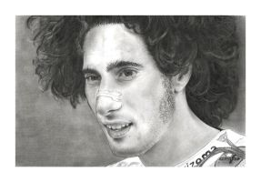 Marco Simoncelli by Menco