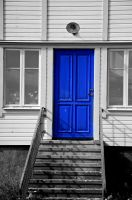 Blue Door by almasart