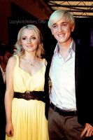 Evanna Lynch and Tom Felton by LoonyAvadaKedavra