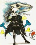 Black Sans Shooter by charly-d-squirrel