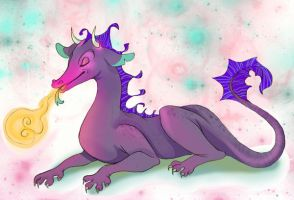 here have a dragon by Limelight-Night