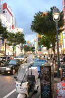 Passersby In Shibuya by chart-the-sky