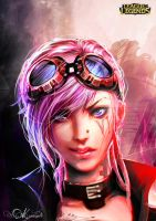 Vi Portrait_League of Legends by Kureiyah