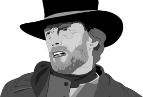 Clint Eastwood by Wearwolfclothing