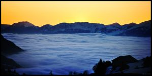 Sea of Clouds by VicDeS-P