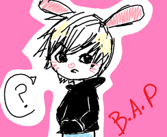 B.A.P - HimChan (Bunny) by DannaWoodPillow