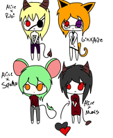 Alice Crack baby Adoptables by The-Insane-Puppeteer