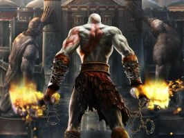 god of war 2 by deathdude321