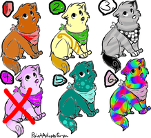 adoptables puppy .:OPEN:. by DiamondStace