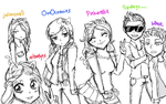 Kawaii Kiwi Fantage Youtube People idk by So-Tay