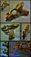 Aetheric Ray Gun Model 2 by CaelynTek