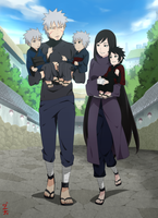Commission - Heading to uncle Uchiha Kagami by dannex009