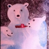 Coca-Cola Polar Bears by annieqiu26